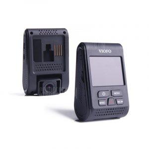 Un VIOFO119 1440P 160 grados de angulo amplio DVR coche