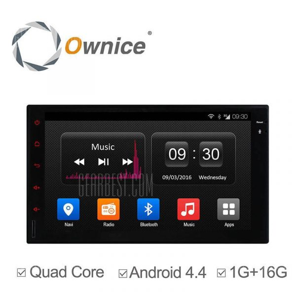 Ownice OL - 7001T Android 4.4 7 pulgadas GPS coche Reproductor multimedia