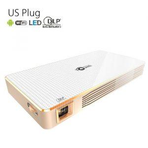 TOUMEI C800 portatil DLP proyector LED inteligente Android 4.4.