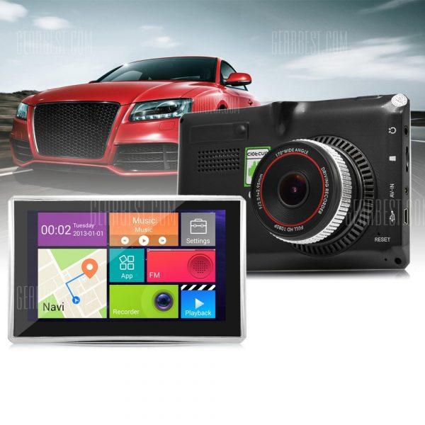 508 Coche GPS Tablet Full HD 1080P de DVR Grabador DVR