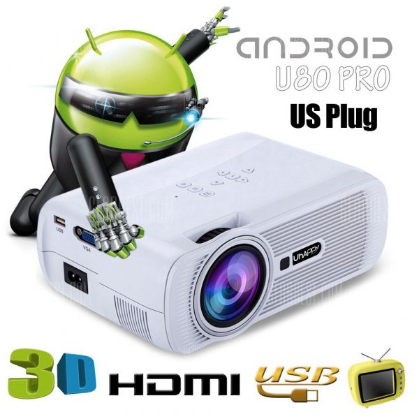 UhAPPy U80 Proyector LCD PRO Android 4.4.