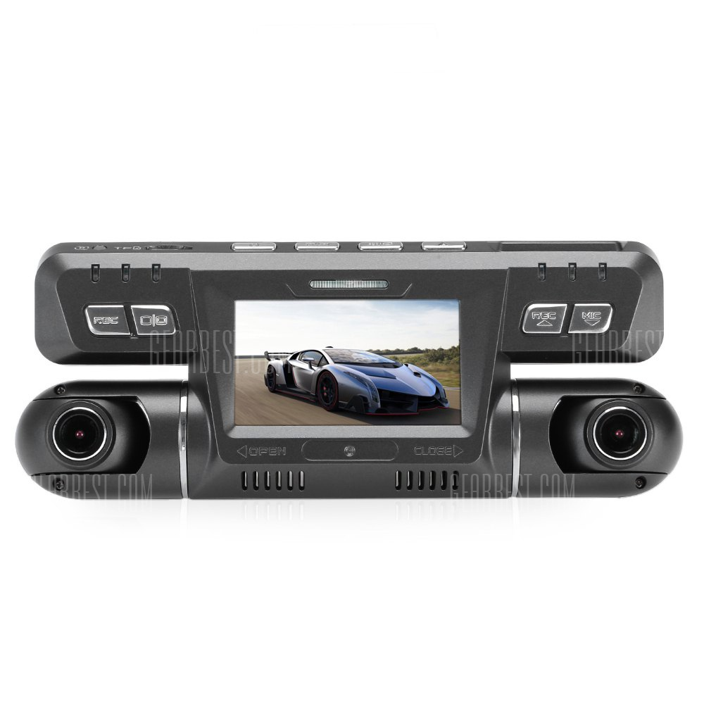 DVR coche con doble camara Full HD 1080P