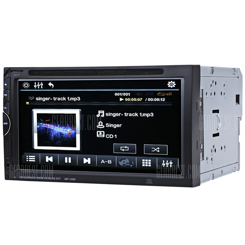 1269 Bluetooth V3.0 32GB Reproductor de DVD para el coche