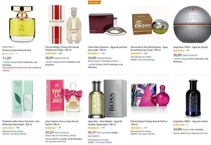 mejores perfumes para regalar a una mujer