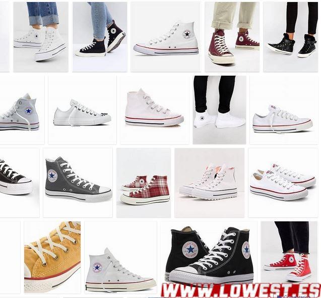 Zapatillas hi top blancas All Star de Converse notizalia