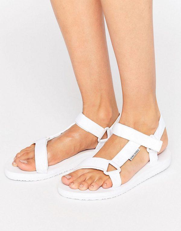 Sandalias con hebilla en el lateral de Vero Moda