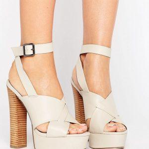 Sandalias de tacon con plataforma TULEM en ofertas calzado