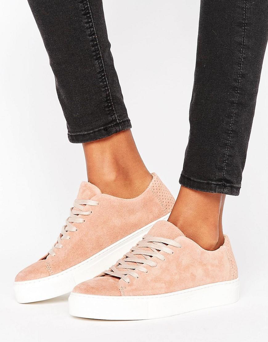 Zapatillas de ante Donna New de Selected