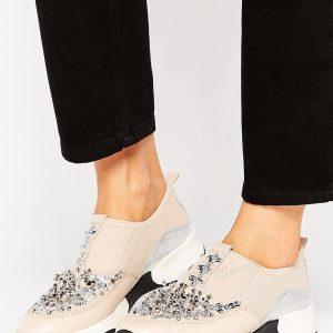 Zapatillas de deporte adornadas Lola de Carvela