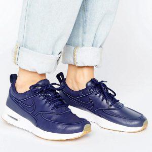 Zapatillas de deporte azul marino Air Max Thea Ultra Premium de Nike