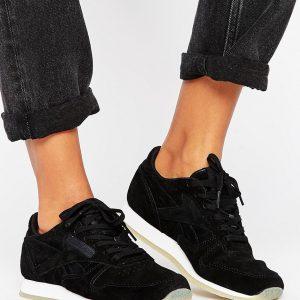 Zapatillas de deporte de cuero clasicas de Reebok