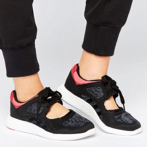 Zapatillas de deporte negras EQT Racing de adidas Originals