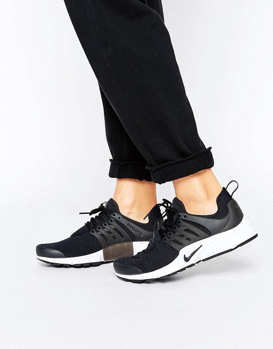 Zapatillas de deporte negras Presto de Nike