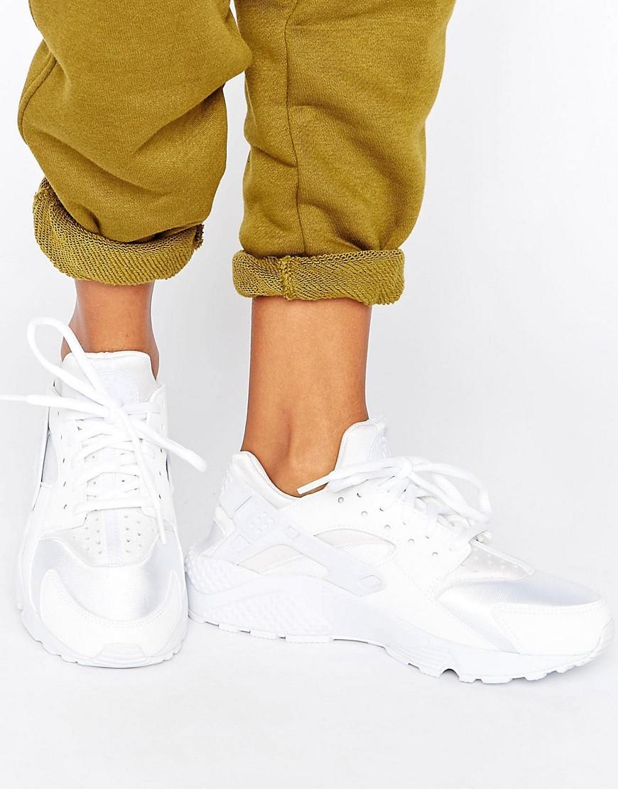 Zapatillas de deporte para correr en blanco Air Huarache de Nike
