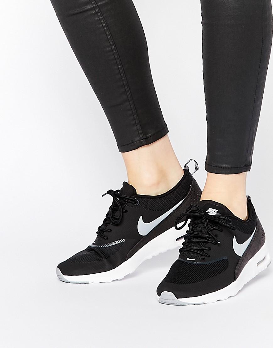 Zapatillas negras con camara de aire Air Max Thea de Nike