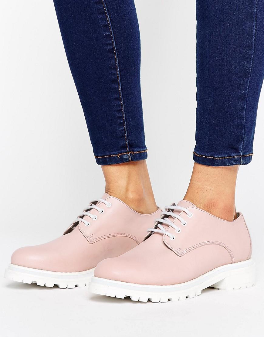 Zapatos de cuero con suela gruesa de H by Hudson