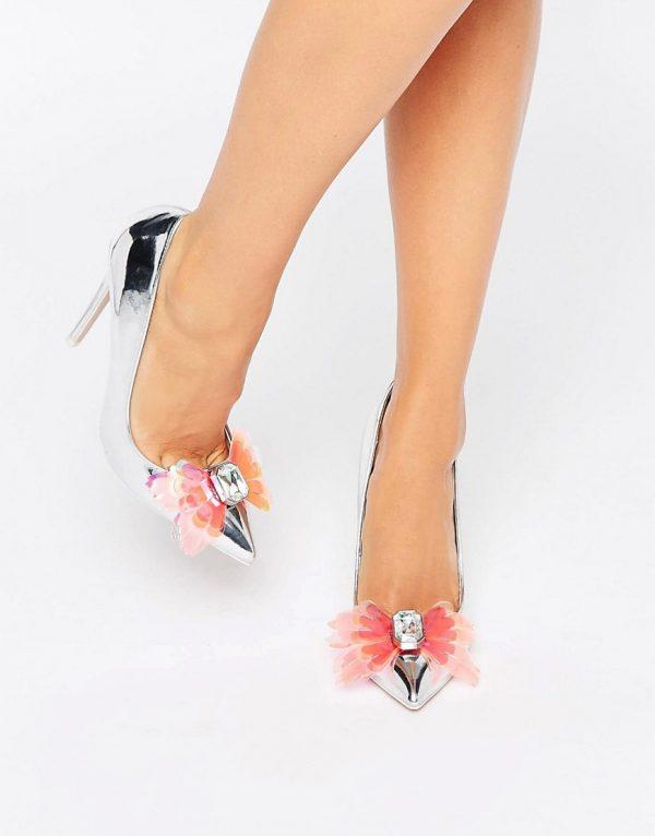 Zapatos de tacon alto en punta con adornos PAYDAY en ofertas calzado