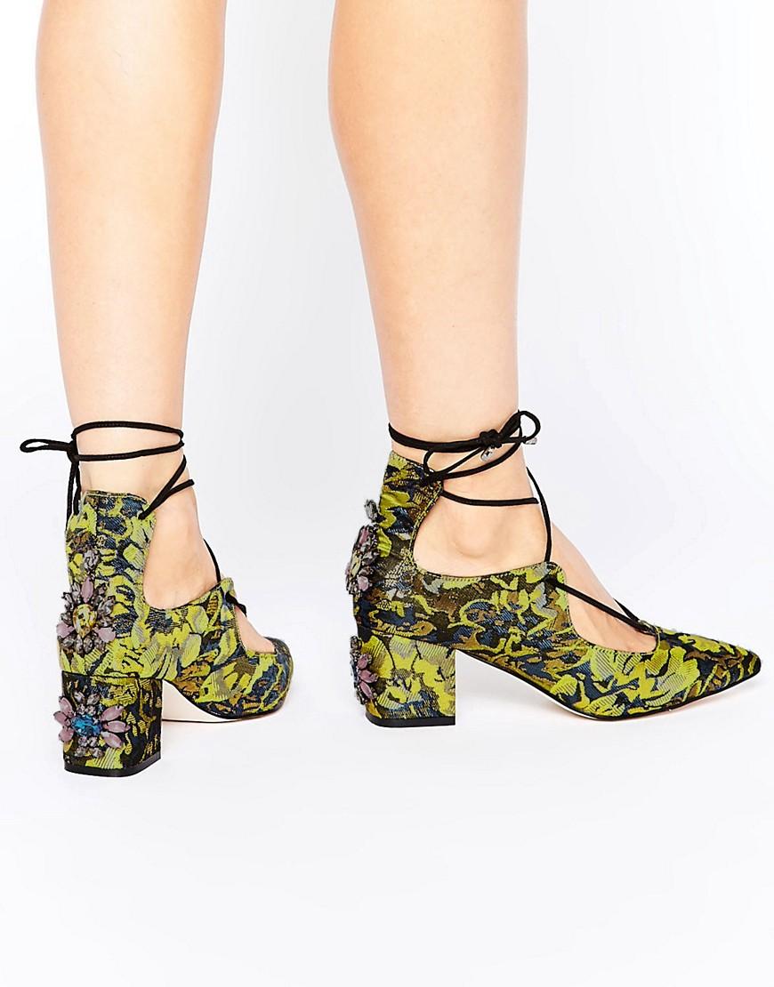 Zapatos de tacon con adornos en ofertas calzado SALOON