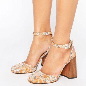 Zapatos de tacon con puntera cuadrada ORRO en ofertas calzado