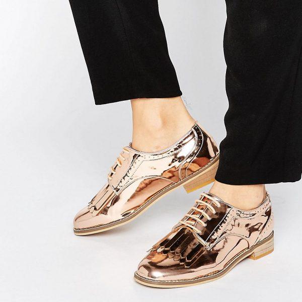 Zapatos Oxford con flecos MISSOURI en ofertas calzado