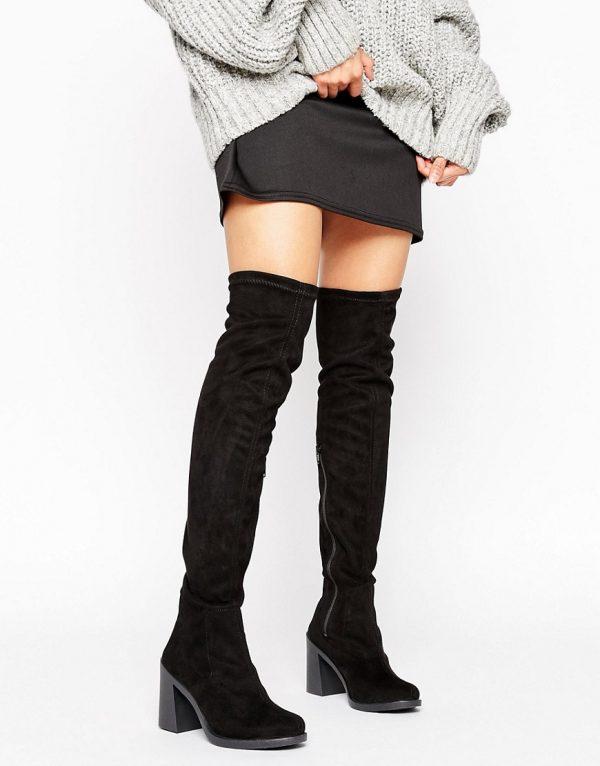 Botas por encima de la rodilla con tacon KALE en ofertas calzado