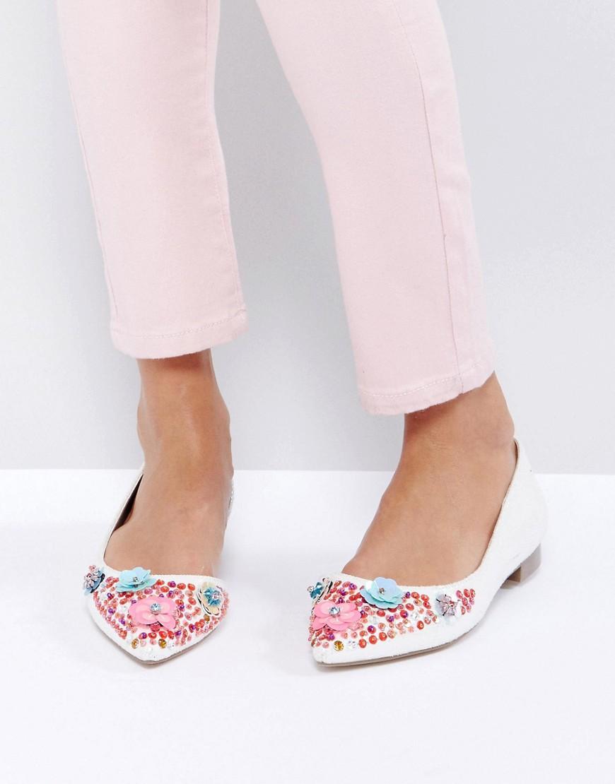 Bailarinas con adornos LOVE LETTER en ofertas calzado