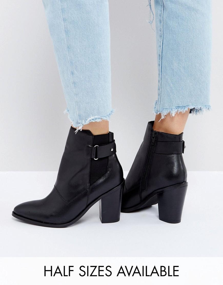 Botines de cuero EFFINA en ofertas calzado