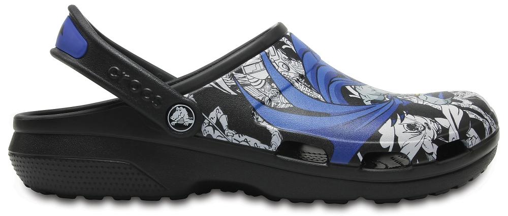 Crocs Clog Unisex Negros Classic Batman