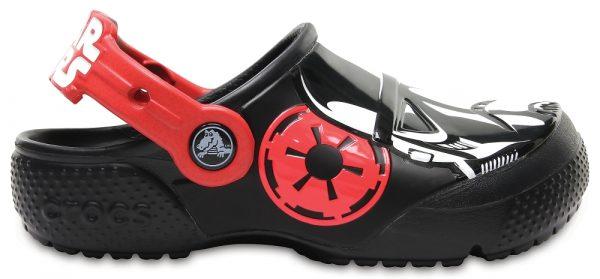 Crocs Clog para chicos Negros Crocs Fun Lab Stormtrooper