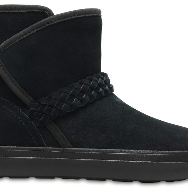Crocs Boot Mujer Negros LodgePoint Suede ie