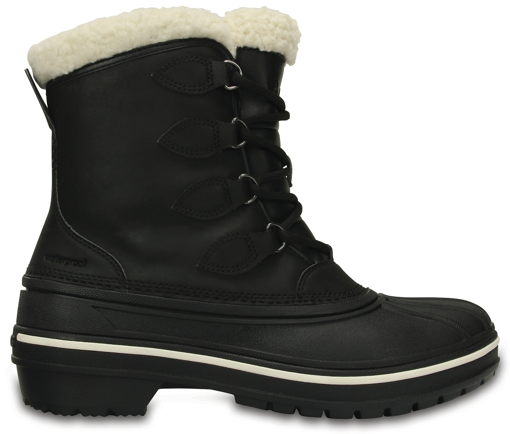 Crocs Boot Mujer Negros AllCast II