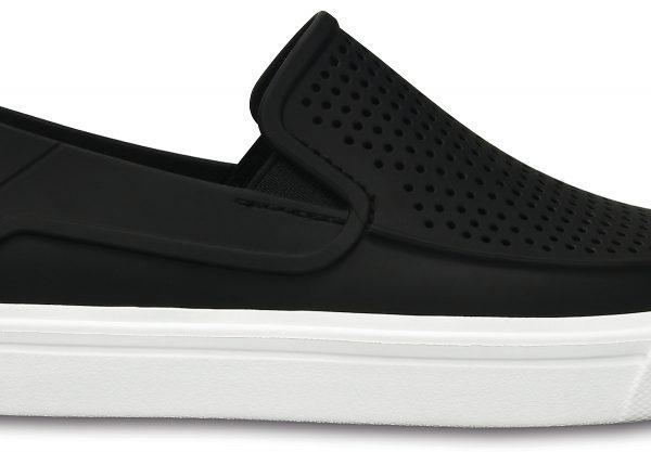 Crocs Shoe Mujer Negros CitiLane Roka Slip-on