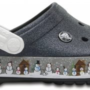 Crocs Clog Unisex Negros Crocband Holiday