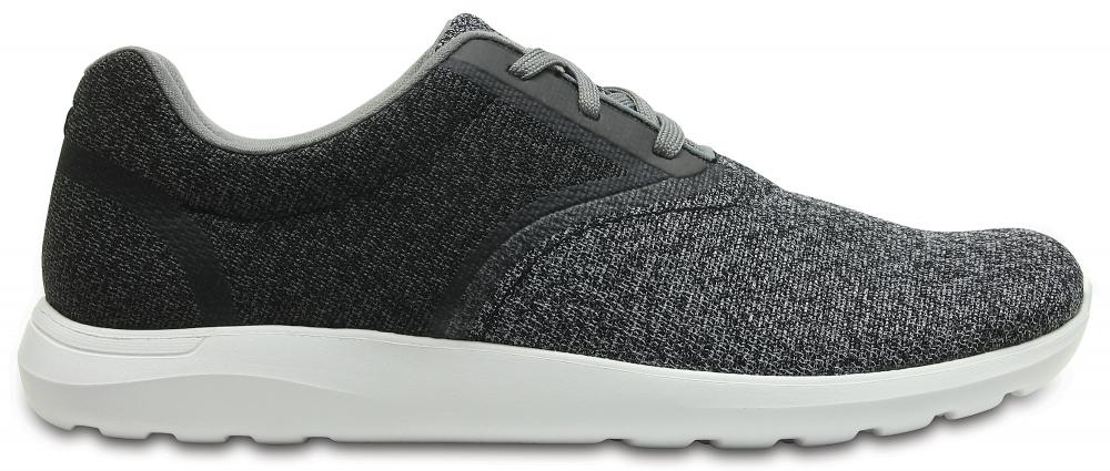 Crocs Shoe Hombre Light Grey / Blancos Crocs Kinsale Static Lace