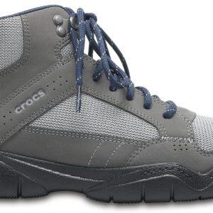 Crocs Boot Hombre Graphite / Negros Swiftwater Hiker Mid