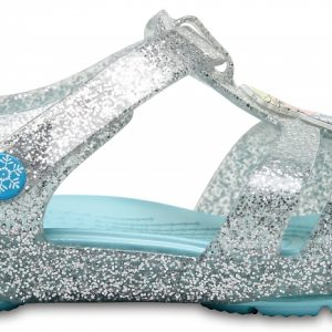 Crocs Sandal para chica Silver Crocs Isabella Frozen Northern Lights s