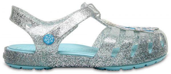 Crocs Sandal para chica Silver Crocs Isabella Frozen Northern Lights s