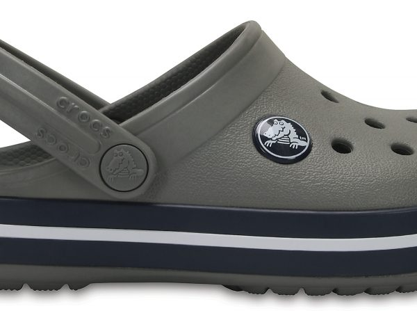 Crocs Clog Unisex Smoke / Azul Navy Crocband