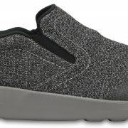 Crocs Shoe Hombre Negros / Smoke Crocs Kinsale Static Slip-On