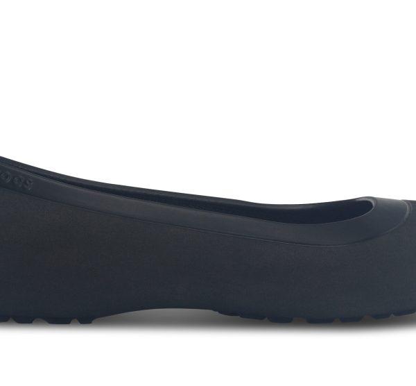 Crocs Flat Mujer Negros / Negros Mammoth