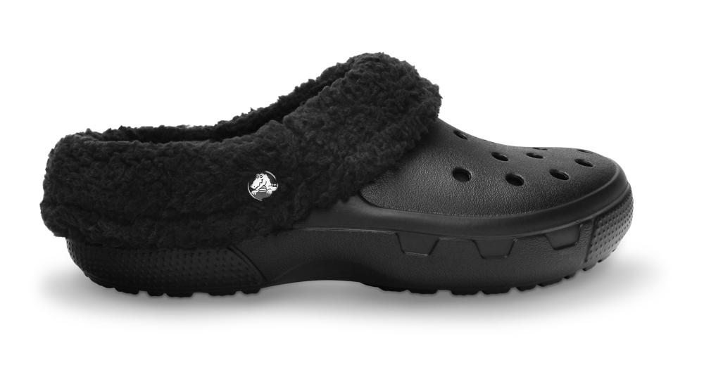 Crocs Clog Unisex Negros / Negros Mammoth EVO