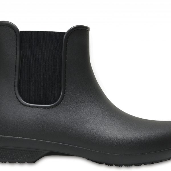 Crocs Boot Mujer Negros / Negros Crocs Freesail Chelsea