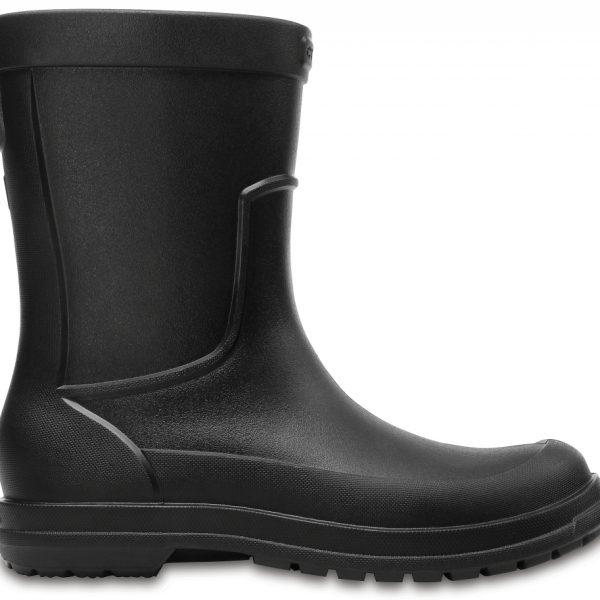 Crocs Boot Hombre Negros / Negros AllCast Rain