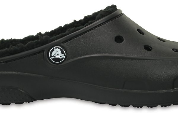 Crocs Clog Mujer Negros / Negros Crocs Freesail Plush Fuzz Lined