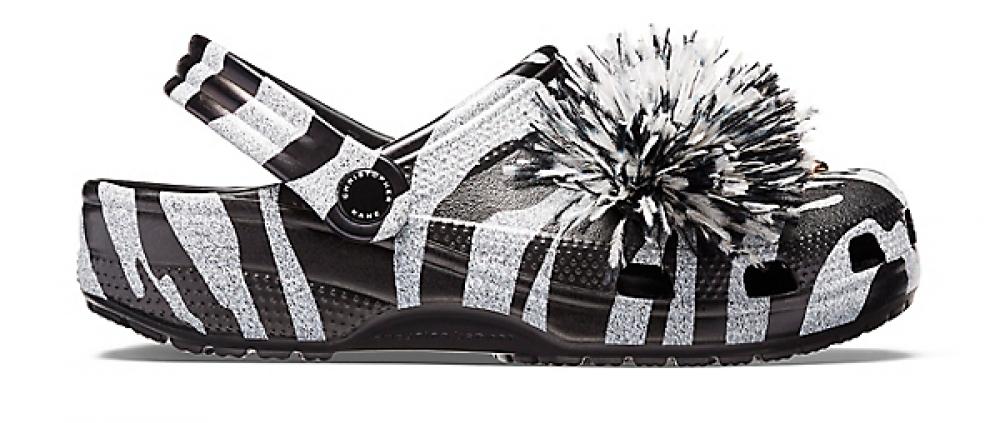 Crocs Clog Mujer Negros / Blancos Christopher Kane x Crocs Negros & Blancos Tiger s
