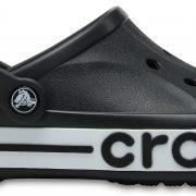Crocs Clog Unisex Negros / Blancos Bayaband s