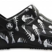 Crocs Clog Unisex Negros / Pearl Bistro Graphic s