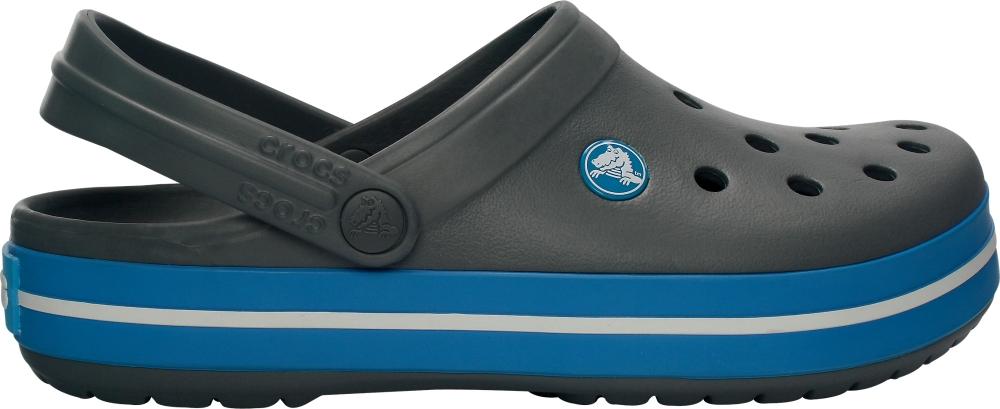 Crocs Clog Unisex Charcoal / Ocean Crocband