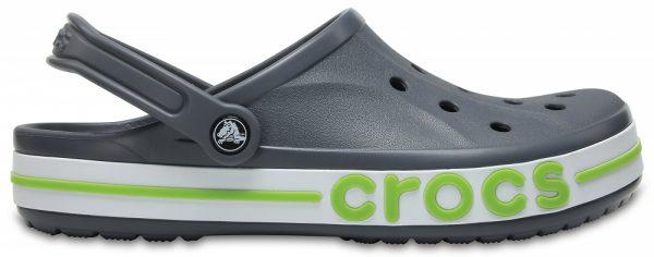 Crocs Clog Unisex Charcoal / Volt Verdes Bayaband s