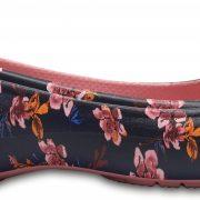 Crocs Flat Mujer Negros / Floral Kadee Graphic